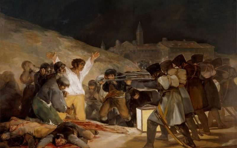 The executions by Francisco de Goya