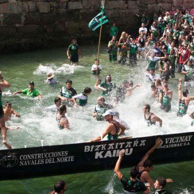 Kontxako Bandera (Bandera de la Concha), the Sensational Trainera Race