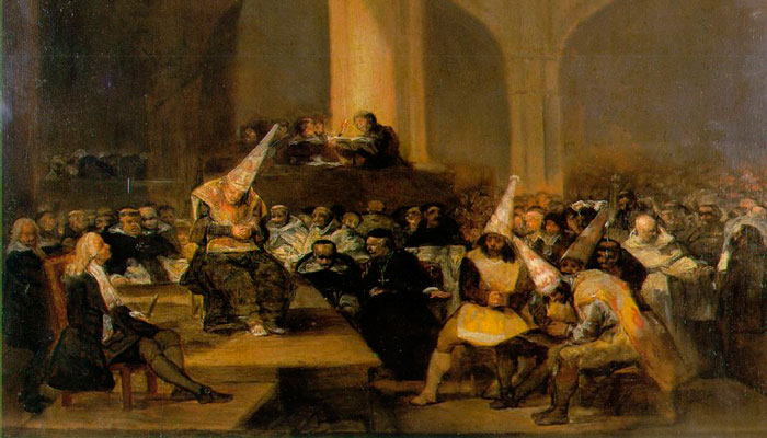 inquisicion francisco goya