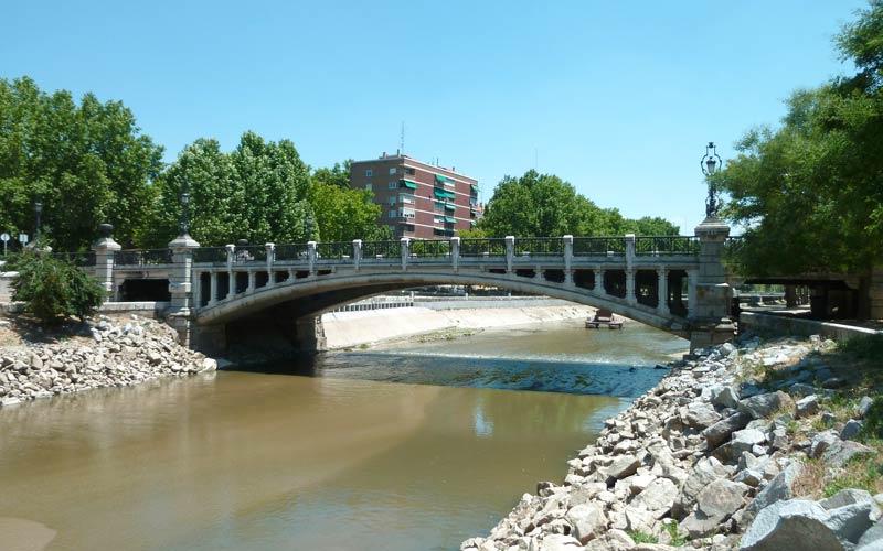 Madrid antiguo: Puente de la Reina Victoria ahora