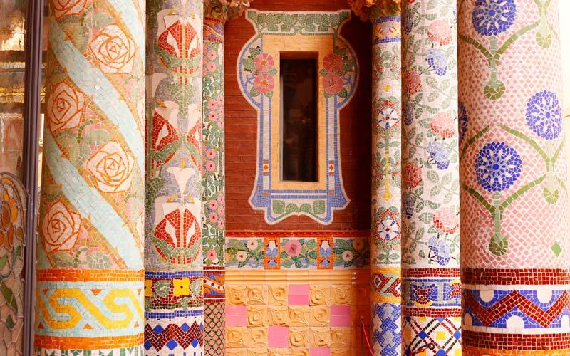 tour gratis por Barcelona: Palau de la Música Catalana