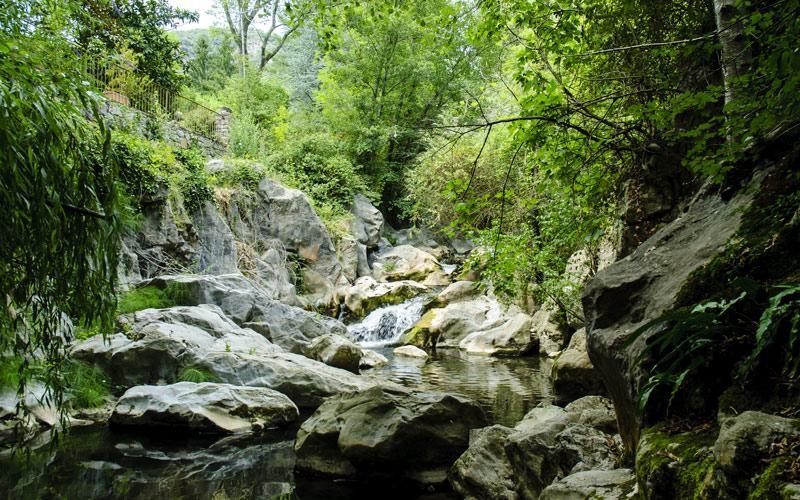 River Llierca near Beget