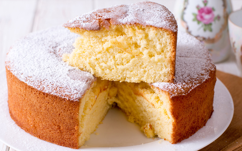 Soria Butter Sponge Cake
