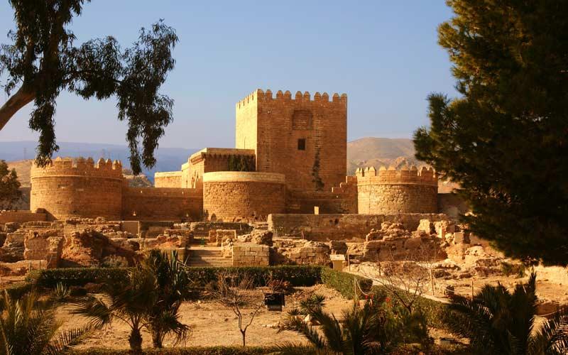 Alcazaba in Almería