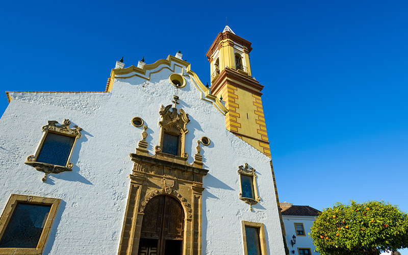 What to see in Estepona. Church of Nuestra Señora de los Remedios