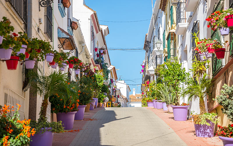 What to see in Estepona. Old town