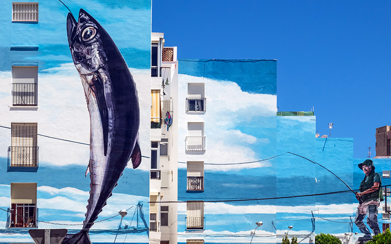 What to see in Estepona. Murals
