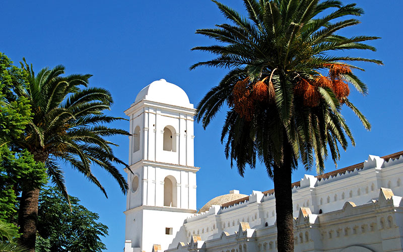 Old church of Santa Catalina