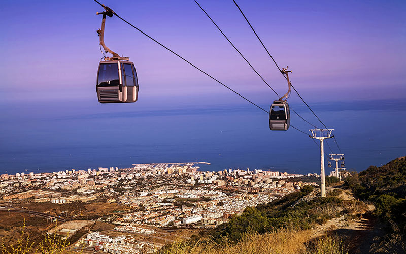 Cable Car in Benalmádena