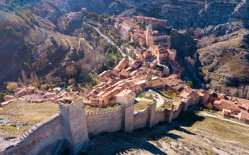 Walls of Albarracín | Shutterstock