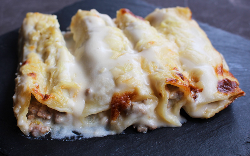 Catalan-style cannelloni