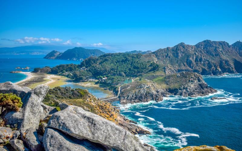 Cíes Islands summer