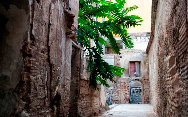 The Jewish quarter in Valencia