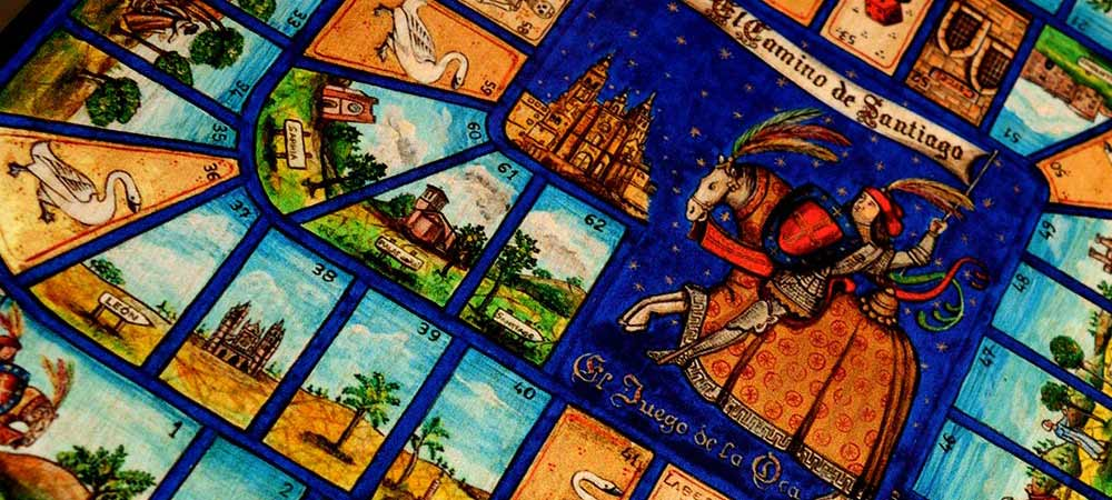 The Camino de Santiago and the Game of the Goose