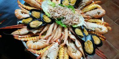 comer marisco puente genil restaurante rueda
