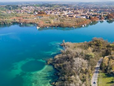 Lake Banyoles, the beautiful and legendary home of the Drac