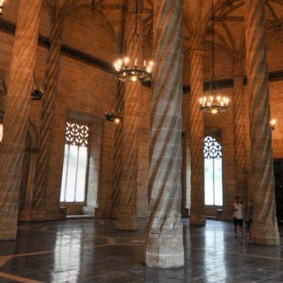 Lonja de la Seda (Silk Exchange), a temple to trade in Valencia