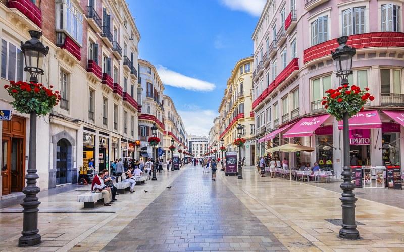 Larios Street, Málaga