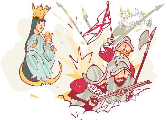 Milagro y tragedia de la Virgen del Puy
