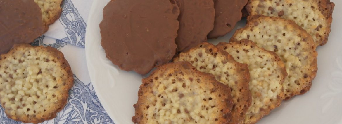 Moscovitas from Oviedo, Spanish cookies with Russian traces