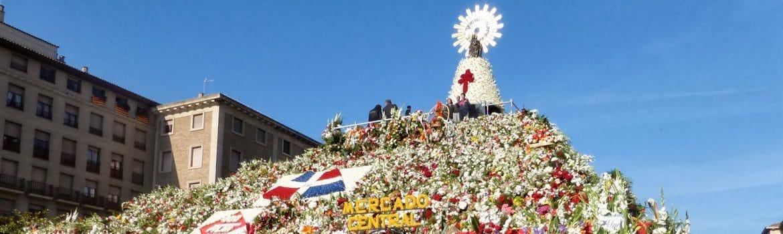 Fiestas del Pilar en Zaragoza
