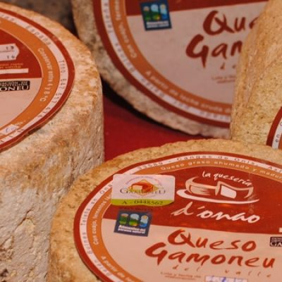 Gamonéu or Gamonedo Cheese, a blue cheese from Picos de Europa