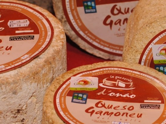 Gamonéu or Gamonedo Cheese, a blue cheese from Picos de Europa