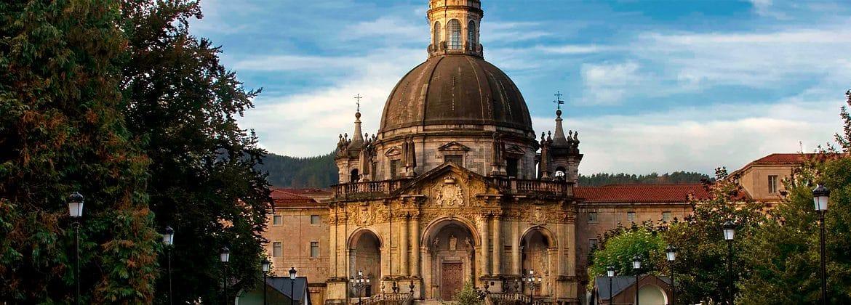 Panorámica que ver en el Santuario de Loyola-Loiola