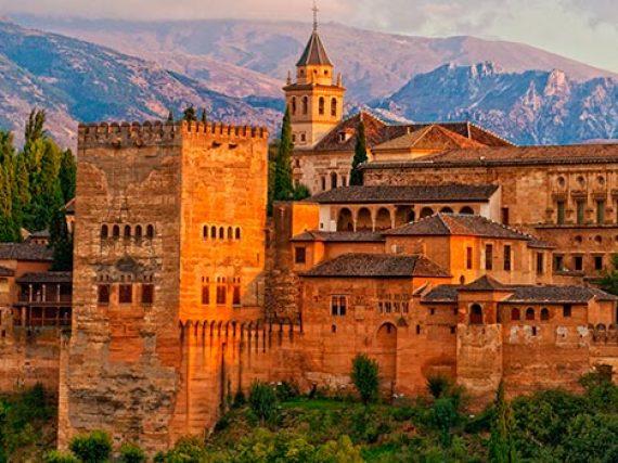 Alhambra and Generalife in Granada