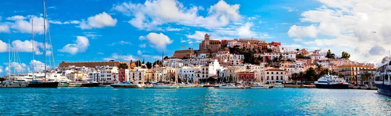 Panorámica que ver en Ibiza