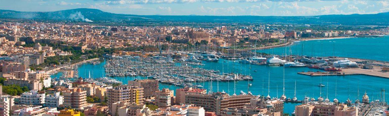 Panorámica que ver en Palma de Mallorca