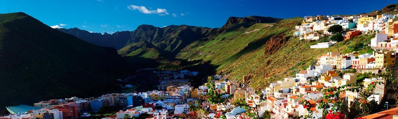 Panorámica que ver en La Gomera