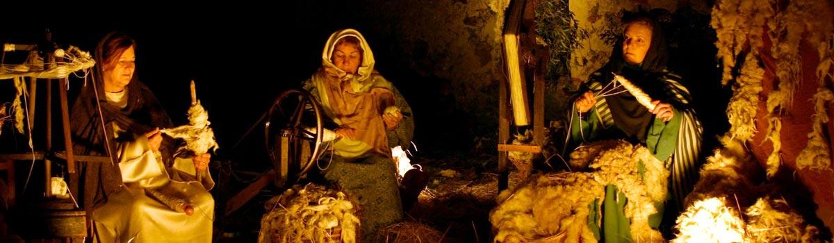 Buitrago Del Lozoya Live Nativity Scene España Fascinante