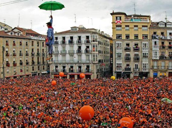 Vitoria-Gasteiz—Festival of the Virgen Blanca (White Virgin)