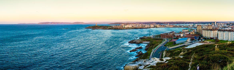 Dónde dormir en A Coruña