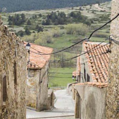 The 5 highest villages in Spain