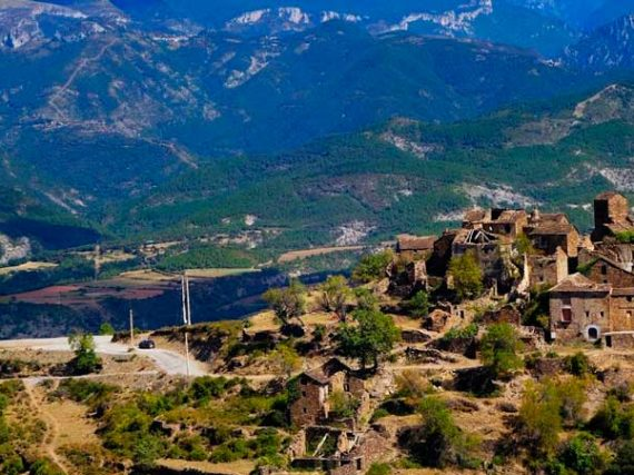 5 abandoned villages in Spain