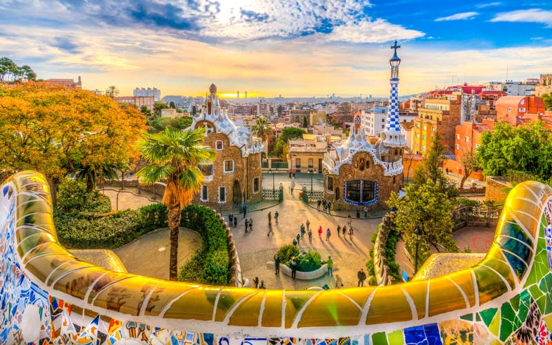 Parque Güell: La Barcelona de Gaudí