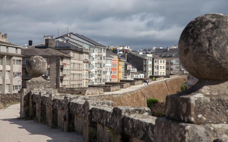Adarve or Lugo's promenade