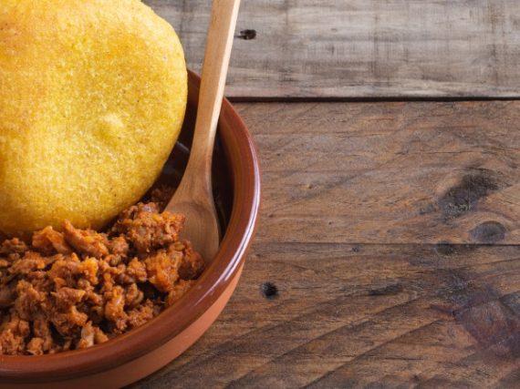 Picadillo de Chorizo or Adobu from Asturias Recipe