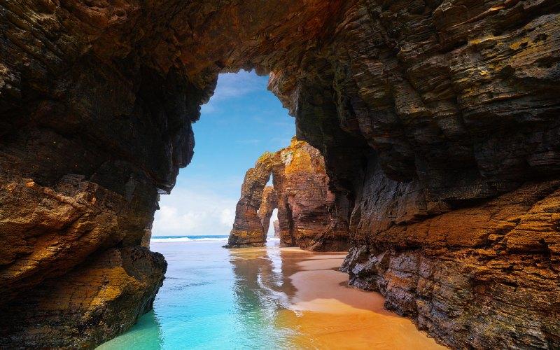 Cathedrals Beach. | Shutterstock