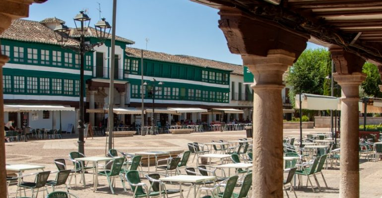 Almagro's Plaza Mayor, a marvelous 16th century complex