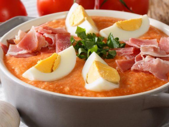 Porra Antequerana Recipe, the cold soup from Málaga