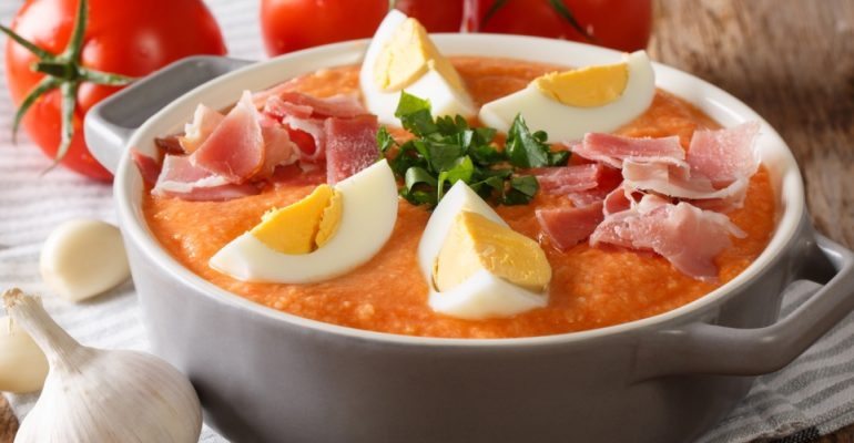 Porra Antequerana Recipe, the cold soup from Málaga