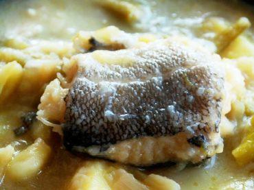 Basque Porrusalda, a revitalising broth for winter