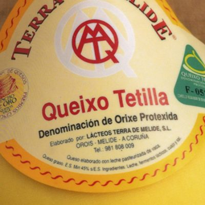 Tetilla Cheese, the well-known Galician designation of origin