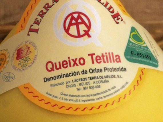 Tetilla Cheese, the well-known Galician designation of origin