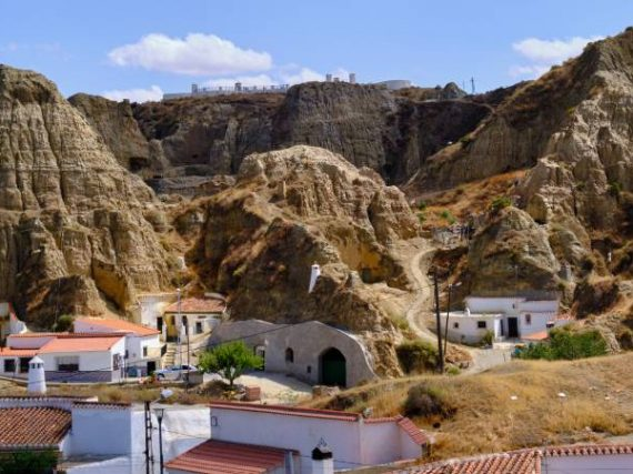 Guadix, the European capital of inhabited caves