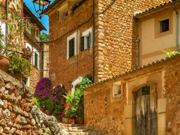 Fornalutx, one of the most beautiful villages in Spain in Sierra de Tramontana