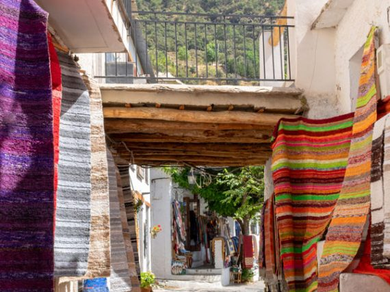 Pampaneira, a colourful gem in the province of Granada